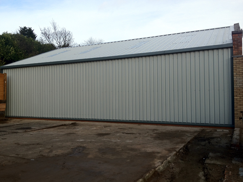 Industrial Roofing Solutions Projects
